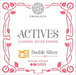 Knobloch Actives 300ADC CX Carbon Double Silver Medium Tension