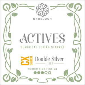 Knobloch Actives 400ADC CX Carbon Double Silver Med-High Tension