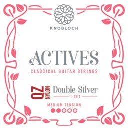 Knobloch Actives 300ADQ QZ Nylon Double Silver Medium Tension
